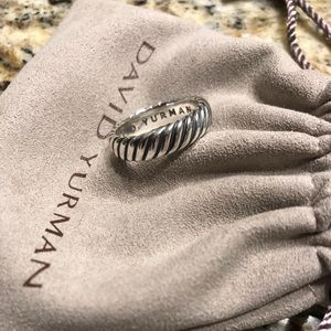 David Yurman Wide Cable Classics Ring